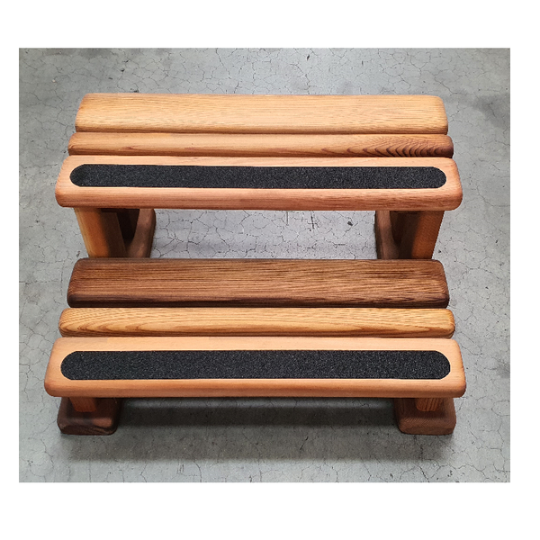 Cedar Wood Spa Steps 300x600mm