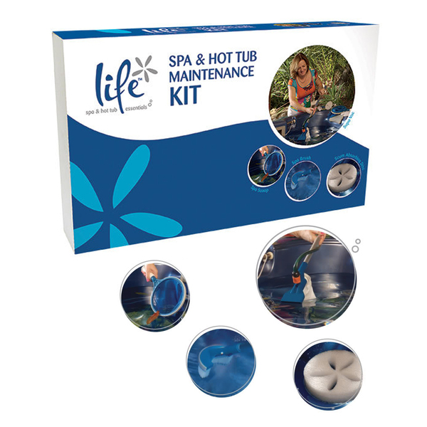 Life Complete Spa & Hot Tub Maintenance Kit