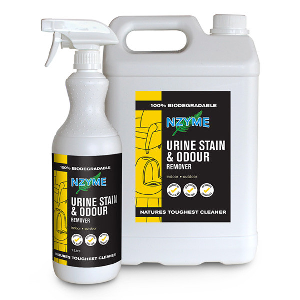 NZYME Urine Stain & Odour Remover 5 Litre Ready To Use