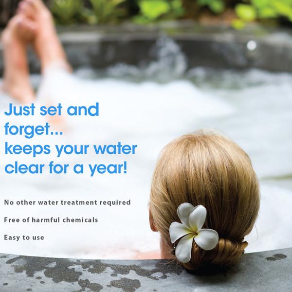 Simple Silver Non-Toxic Spa Pool Treatment 1Kg