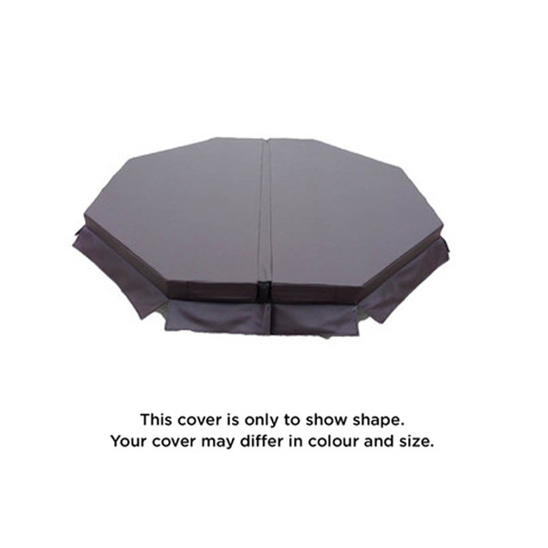 2205 x 2170mm Spa cover to fit Leisurerite Executive Octagon (Pre 04)