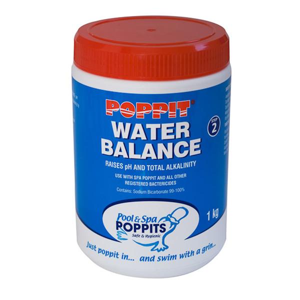 Poppits 1Kg Spa Pool Water Balance