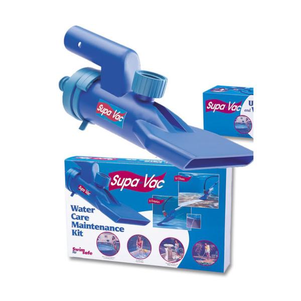 Supa Vac Spa Vacuum complete with Three Way Tele Handle & Hose