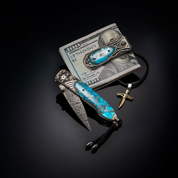 William Henry Knives Jewelry