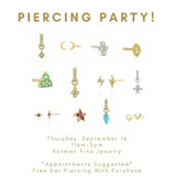 September Piercing Party