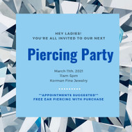 March Piercing Party