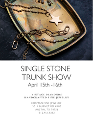 Single Stone Trunk Show