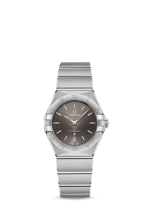 Constellation Manhattan Quartz 28 mm in Steel