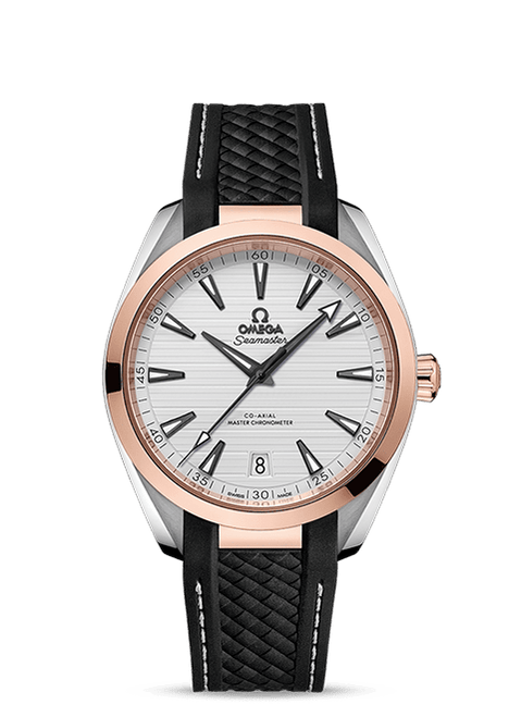 Seamaster Aqua Terra 150M Omega Co-Axial Master Chronometer 41 mm with White Dial