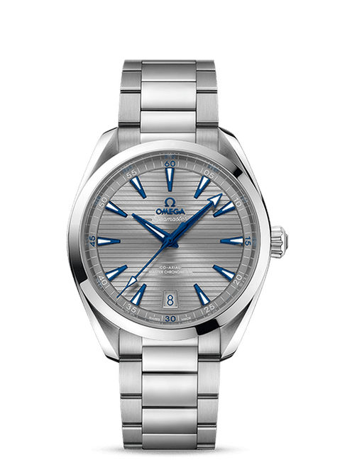 Seamaster Aqua Terra 150M Omega Co-Axial Master Chronometer 41 mm with Grey Dial