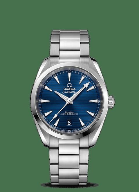 Seamaster Aqua Terra 150M Omega Co-Axial Master Chronometer 38 mm with Blue Dial