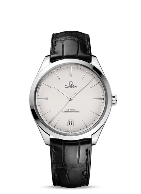 De Ville Trésor Omega Co‑Axial Master Chronometer 40 mm with Silver Dial