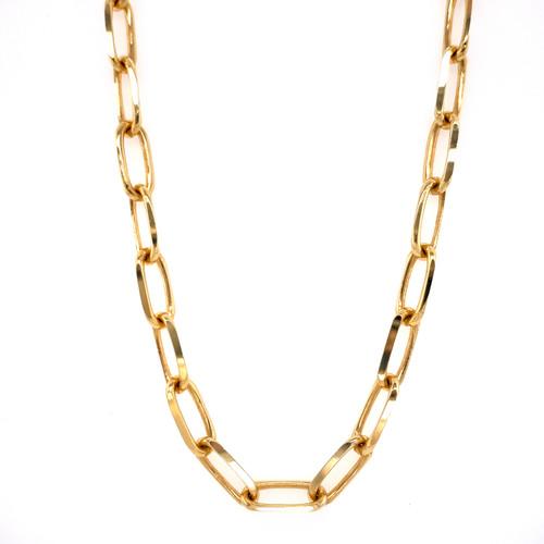 5.25mm Yellow Gold Forzentina Chain