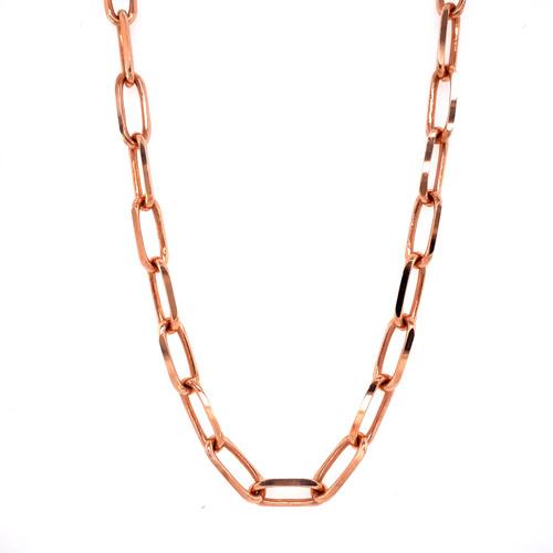 5.25mm Rose Gold Forzentina Chain
