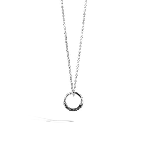 John Hardy Bamboo Sterling Silver Rolo Chain