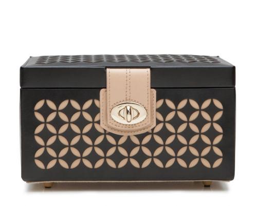 Chloe Small Black Jewelry Box