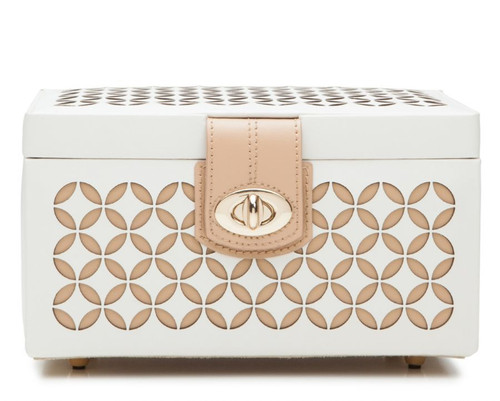 Cream Chloe Small Jewelry Box