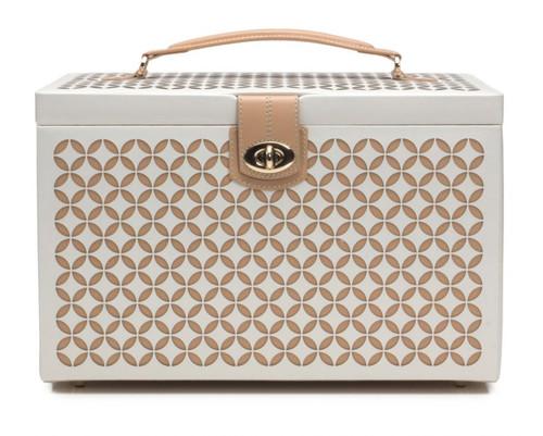 Cream Chloe Large Jewelry Box