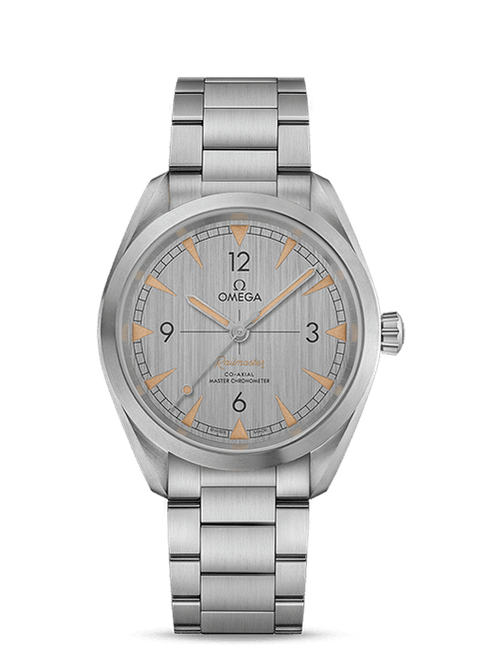 Seamaster Railmaster Omega Co-Axial Master Chronometer 40 mm Grey Dial