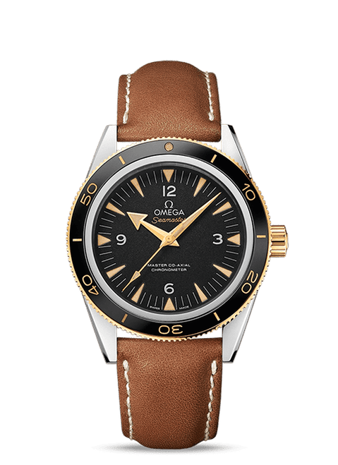 Seamaster 300 Omega Master Co-Axial 41 mm Black Dial