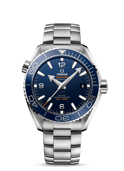 Seamaster Planet Ocean 600M Omega Co-Axial Master Chronometer 43.5mm Blue Dial