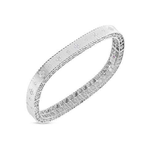 Diamond Satin Princess Bangle