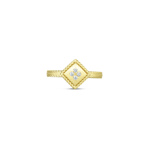 Yellow Gold Palazzo Ducale Ring