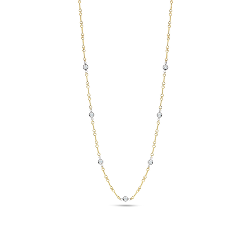 7 Station Dogbone Chain Necklace