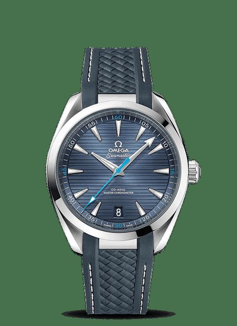 Seamaster Aqua Terra 150M Omega Co-Axial Master Chronometer 41 mm Blue Dial