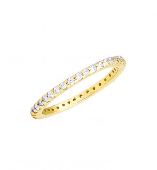 14KT Diamond Eternity Band