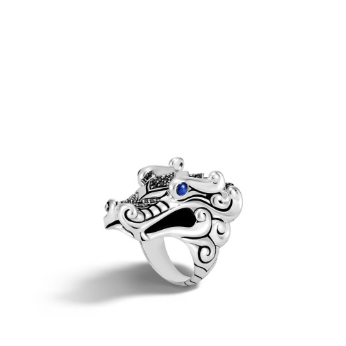 Legends Naga Dragon Silver Ring