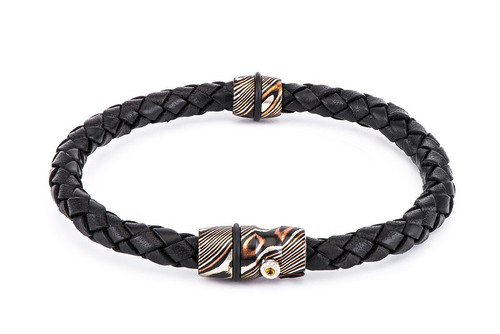 Venus Braided Leather Bracelet