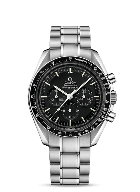 Speedmaster Moonwatch Professional Chronograph 42 mm Black Dial