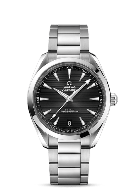 Seamaster Aqua Terra 150M Omega Co-Axial Master Chronometer 41 mm with Black Dial