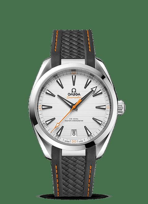 Seamaster Aqua Terra 150M Omega Co-Axial Master Chronometer 41 mm Silver Dial