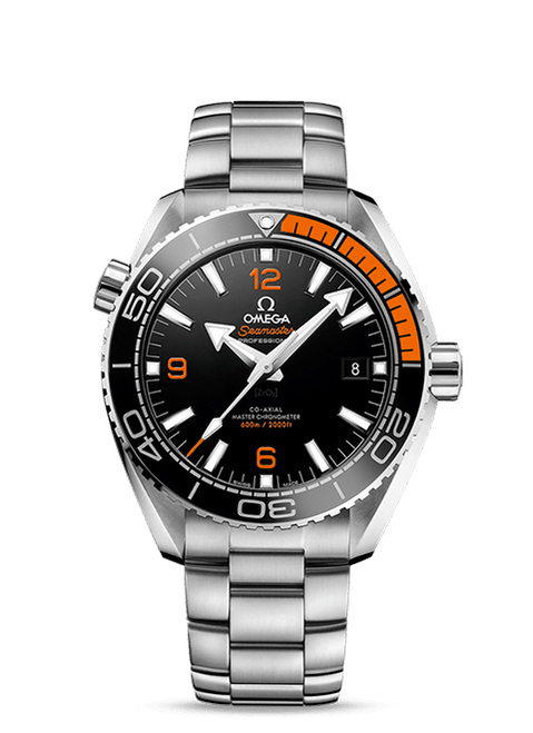 Seamaster Planet Ocean 600M Omega Co-Axial Master Chronometer 43.5 mm Black Dial