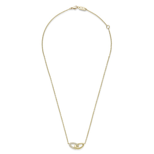Cherish Diamond Link Necklace