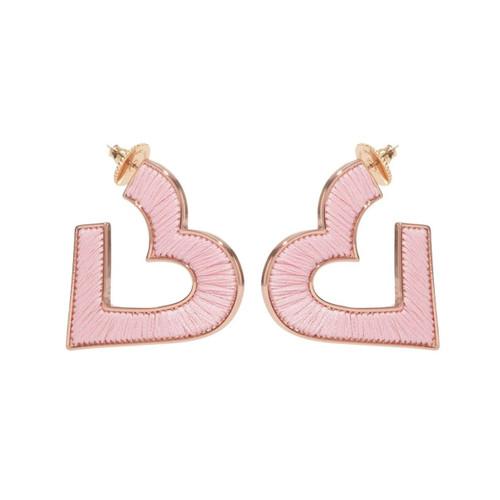 Heart Fiona Hoop Earrings