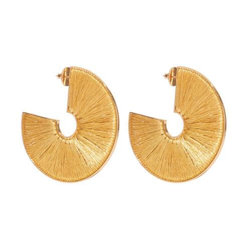 Mega Fiona Hoop Earrings