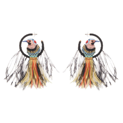 Woodpecker Lux Earrings