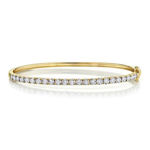 0.69ct Diamond Bangle