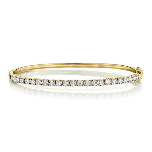 0.69ct Diamond Bangle