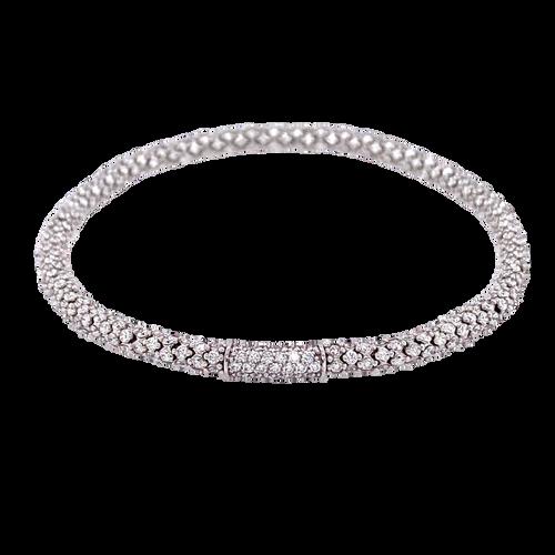 Small Stretch Diamond Bracelet