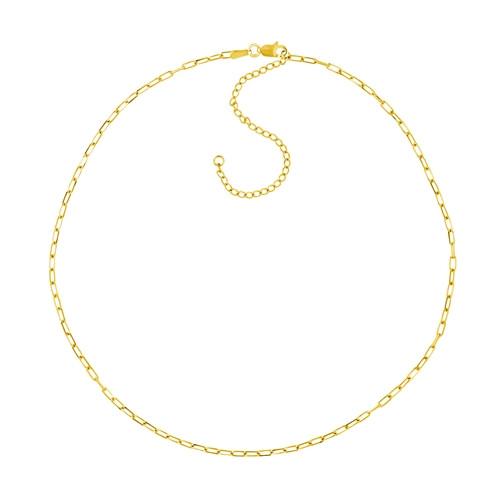 14KT 1.95mm Open Forzentina Choker Necklace