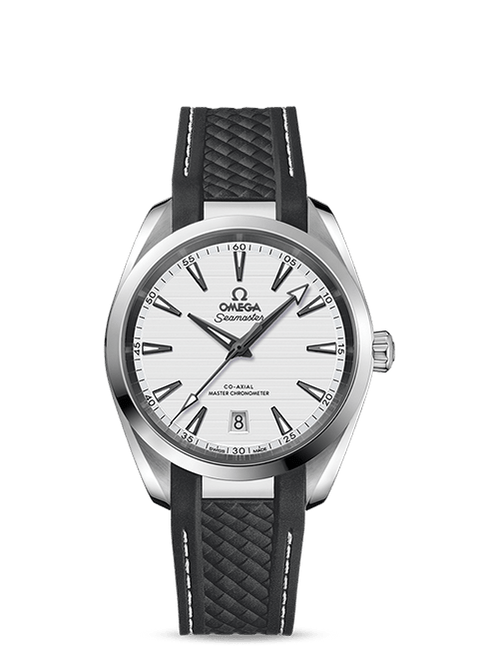 Seamaster Aqua Terra 150M Omega Co-Axial Master Chronometer 38 mm Silver Dial