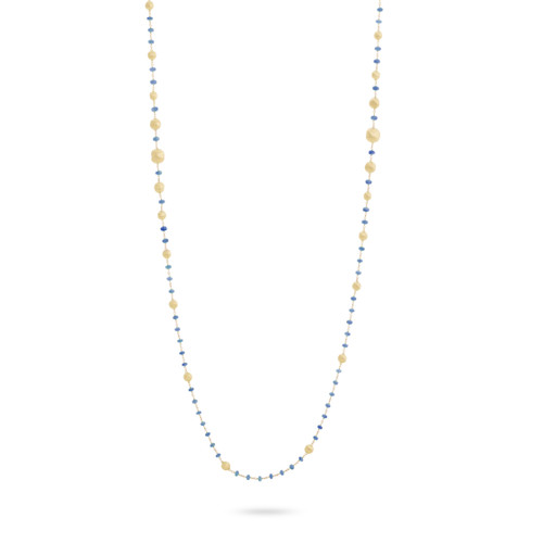 Africa Sapphire Long Necklace