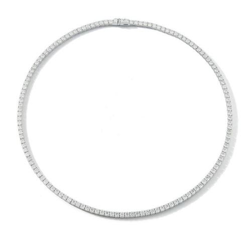 14KT Diamond Tennis Necklace