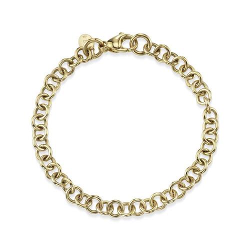 18KT Mini Club Bracelet
