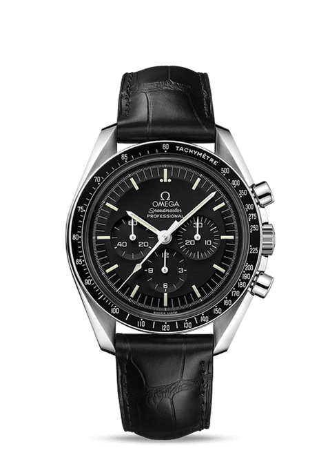 Speedmaster Moonwatch Professional Chronograph 42 mm Leather Strap