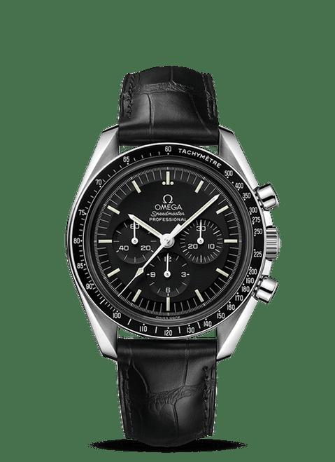 Speedmaster Moonwatch Professional Chronograph 42 mm Leather Strap